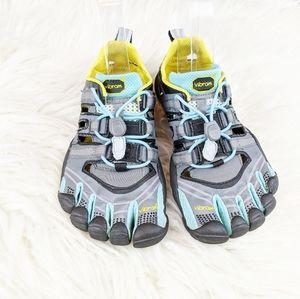 Vibram Five Fingers Grey & Blue Running Shoes